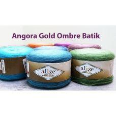 Angora Gold Ombre Batik (шерсть 20%, акрил 80%) (150гр. 825м.)* 4 мотка