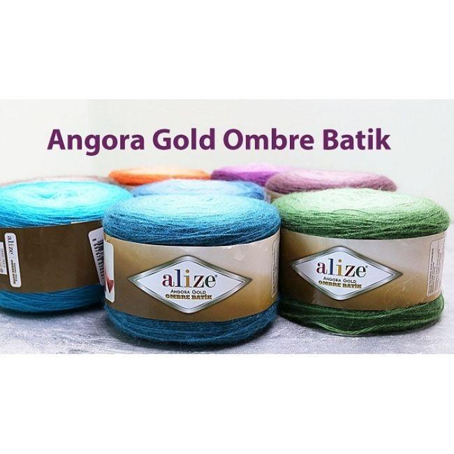 пряжа Alize Angora Gold Ombre Batik