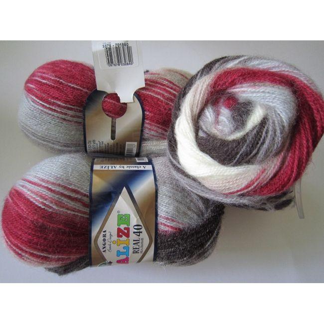 3376 м. серый/красный/белый