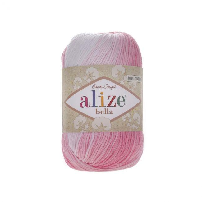 2126 белый, розовый