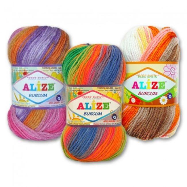 пряжа Alize Burcum Bebe Batik