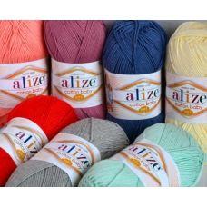 Cotton Baby Soft (хлопок 50%, акрил 50%) (100гр. 270м.)*5 мотков