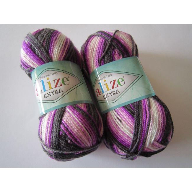 4873 м. чёрный/белый/фиолет.