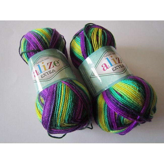 4880 м. жёлтый/фиолетовый