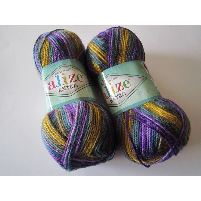 4897 м. горчица/фиолет
