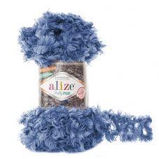 Puffy Fur (микрополиэстер 100%) (100гр. 6м.)*5 мотков