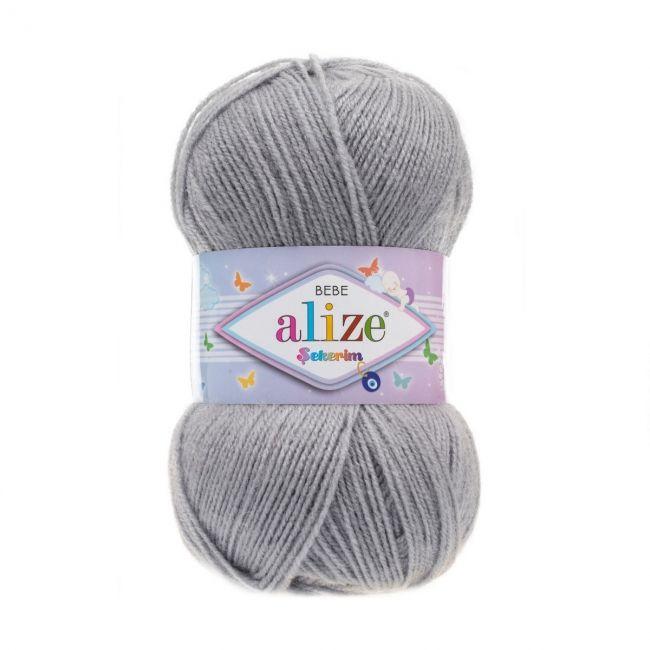 344 серебристо-серый