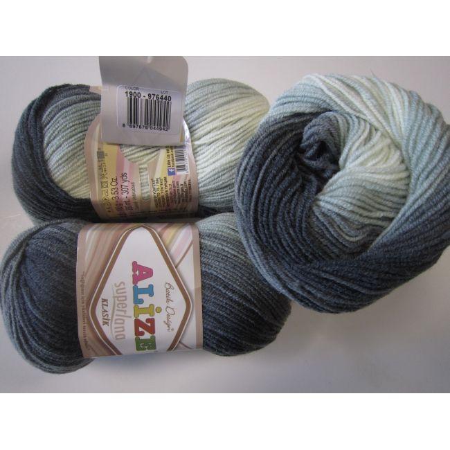 1900 серый, белый, голубой