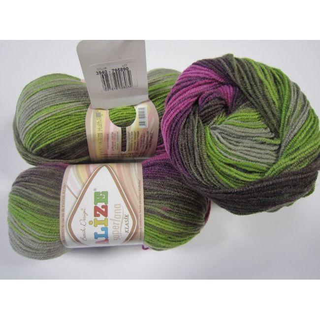 3940 сирен/фиолет/жёлт/беж