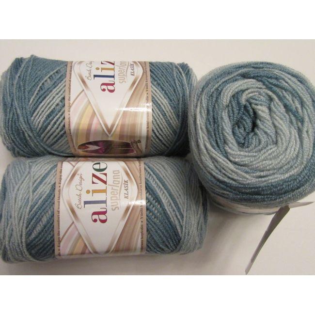 6964 серый, голубой