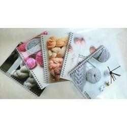 """Поступление дневников  для вязания """"My knitting diary"""""""