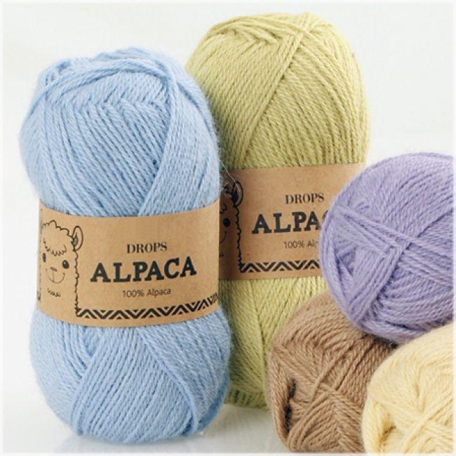 пряжа Drops Alpaca Uni Color