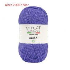 Alara (50% шерсть мериноса, 50% переработанный акрил, 100 грамм, 50 метров)*10 мотков