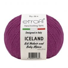 Iceland (10% мохер, 5% альпака, 55% полиамид, 30% вискоза) (50гр. 250м.)*10 мотков