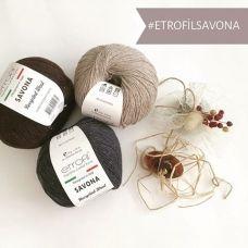 Savona (100% переработанное волокно) (50гр. 175м.)*10 мотков