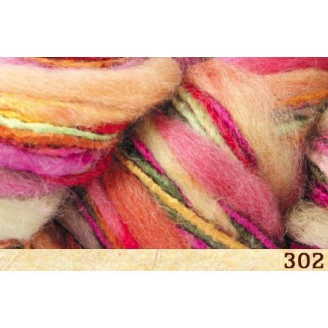 302 оранжево-розово-зелёный
