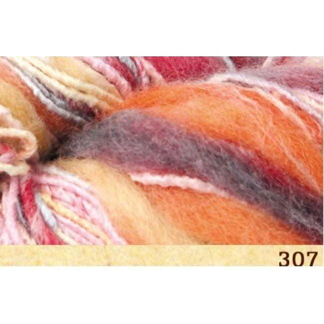 307 оранжево-розово-жёлтый