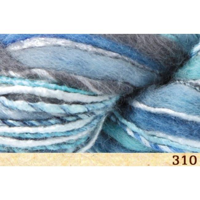 310 бирюзово-серо-голубой