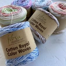 Cotton Royal Color Waves (100% хлопок) (100гр. 210м.)*5 мотков