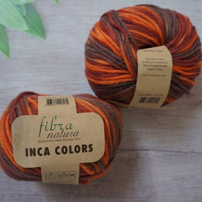 Пряжа Fibranatura Inca colors
