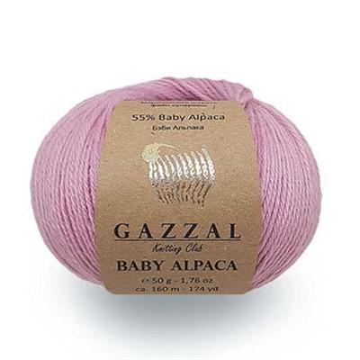 Baby Alpaca (45% Мериносовая шерсть файн супервош, 55% Беби Альпака) (50гр. 160м.)*5 мотков