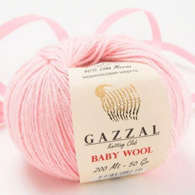 Baby Wool (мериносовая шерсть 40%, кашемир ПА 20%, полиакрил 40%) (50гр._175м.)