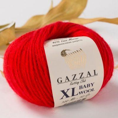 Baby Wool XL (мериносовая шерсть 40%, кашемир 20%, акрил 40%) (50гр. 100м.)х10