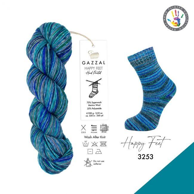 3253 син/серый