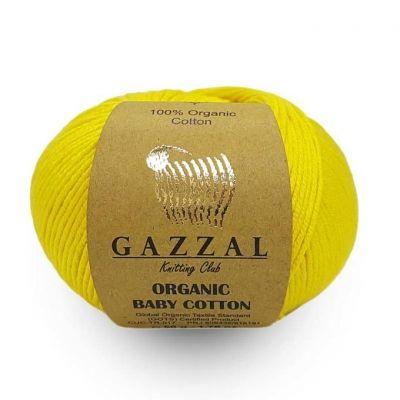 Organic Baby Cotton (органический хлопок 100%) (50гр._115м.)*10 мотков