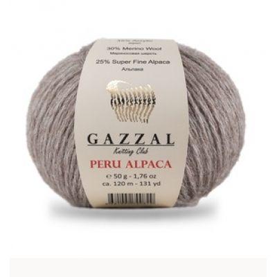Peru Alpaca (25%Супер тонкая- Альпака-30% Мерино-шерсть- 45% акрил ) (50гр. 120м.)*10 мотков