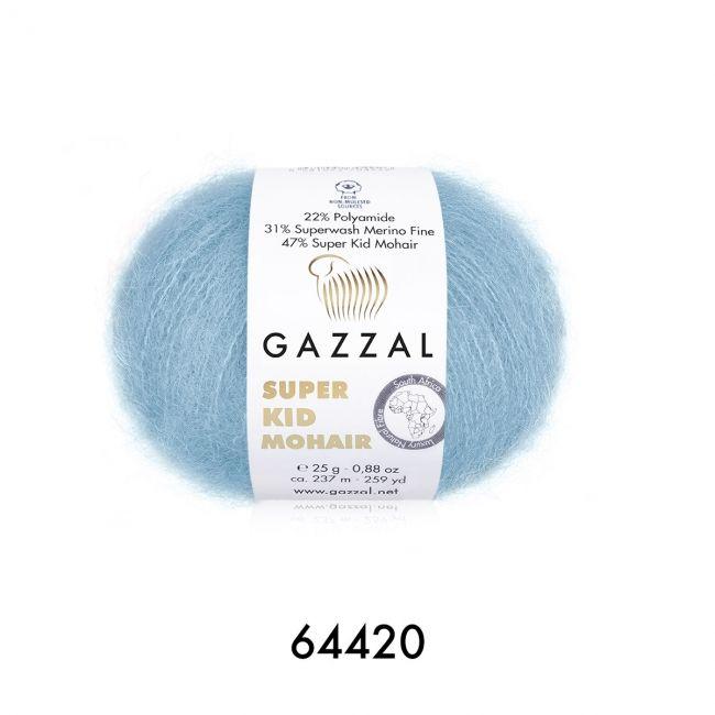 64420 нежно-голубой