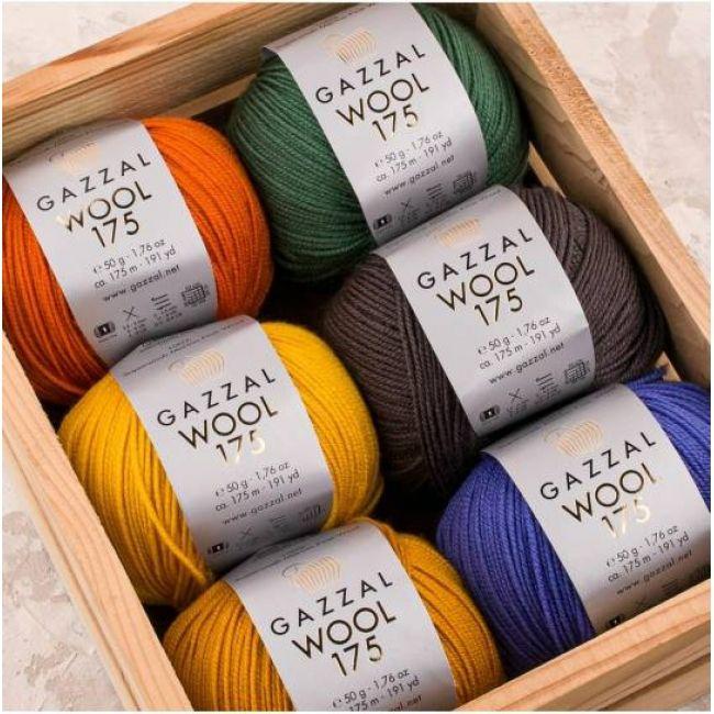 пряжа Gazzal Wool 175