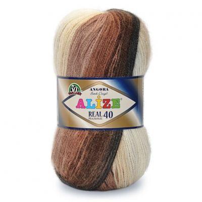 Angora Real 40 Batik (шерсть 40%, акрил 60%) (100гр. 480м.)*5 мотков