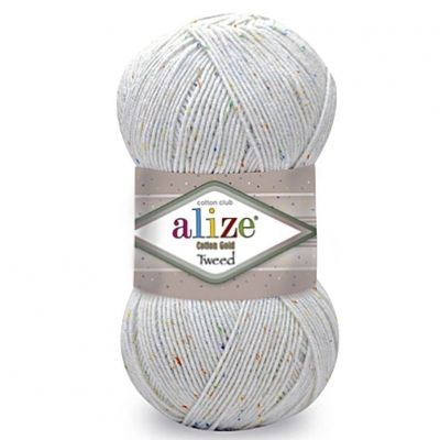 Cotton Gold Tweed (хлопок 57%, акрил 40%, Polyester 3%) (100гр. 330м.)*5 мотков