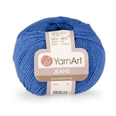 Jeans (хлопок 55%, полиакрил 45%) (50гр._160м.)* 10 мотков