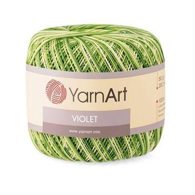 Violet Melange (мерсеризованный хлопок 100%) (50гр. 282м.)*6 мотков