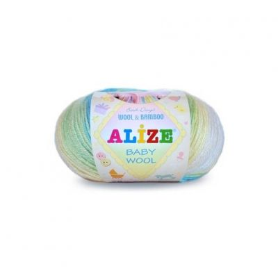Baby Wool Batik (шерсть 40%, бамбук 20%, акрил 40%) (50гр._175м.)*10 мотков