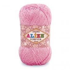 Forever Crochet Sim (Микрофибра Акрил-96%, Металлик-4%) (50гр. 280м.)*5 мотков