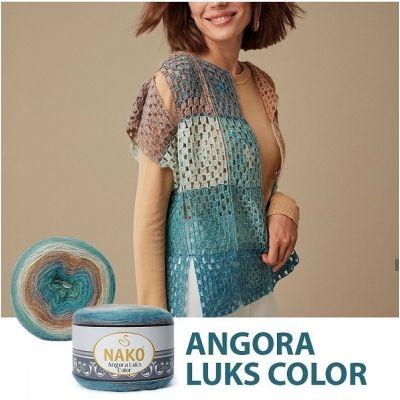 Nako Angora Luks Color