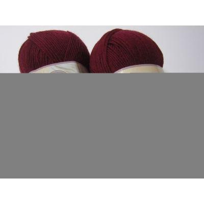 Pure Wool 3.5 (100% шерсть) (100гр. 350м.) цвет 6592бордо*5мотков