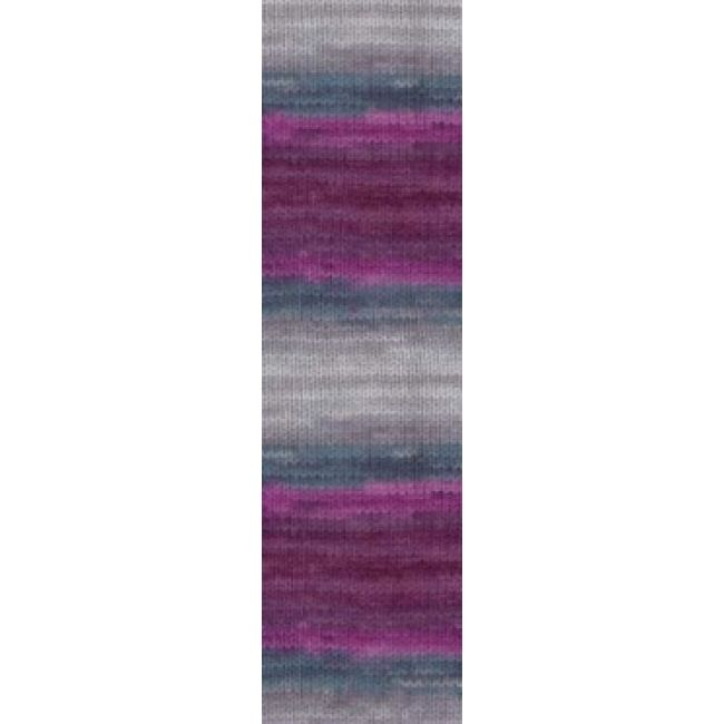 3366 фиолетовый/бирюза/серый