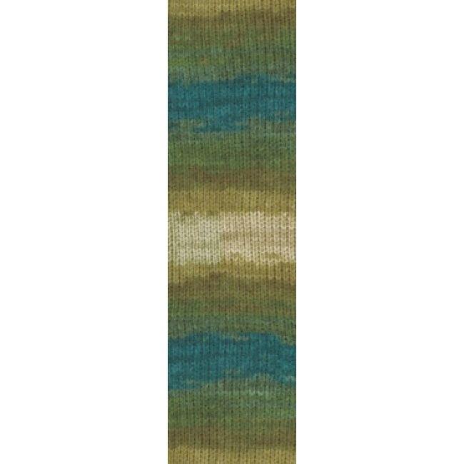 4684 зеленый/морская волна/бежевый