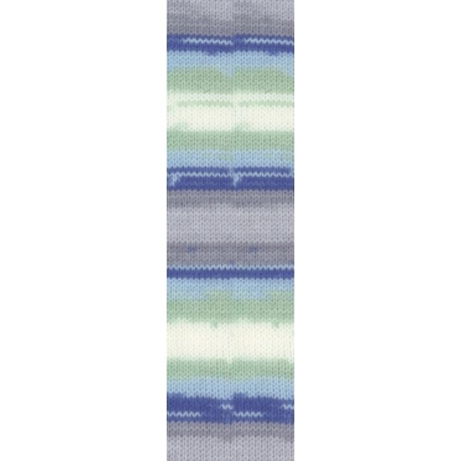 6548 серый/голуб/бел/мята