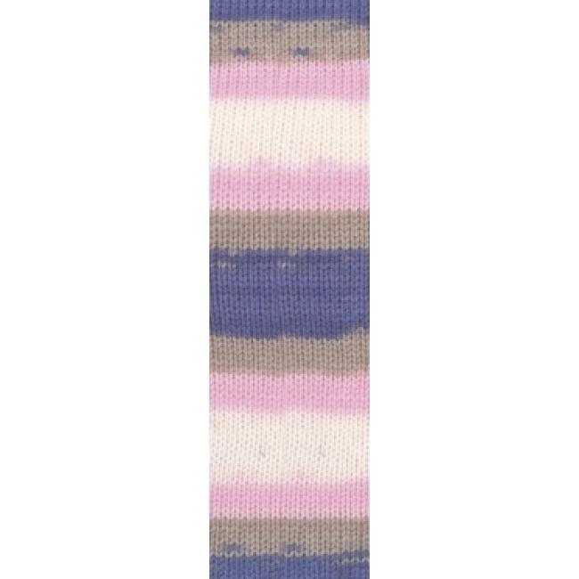6619 роз/бел/беж/фиолет