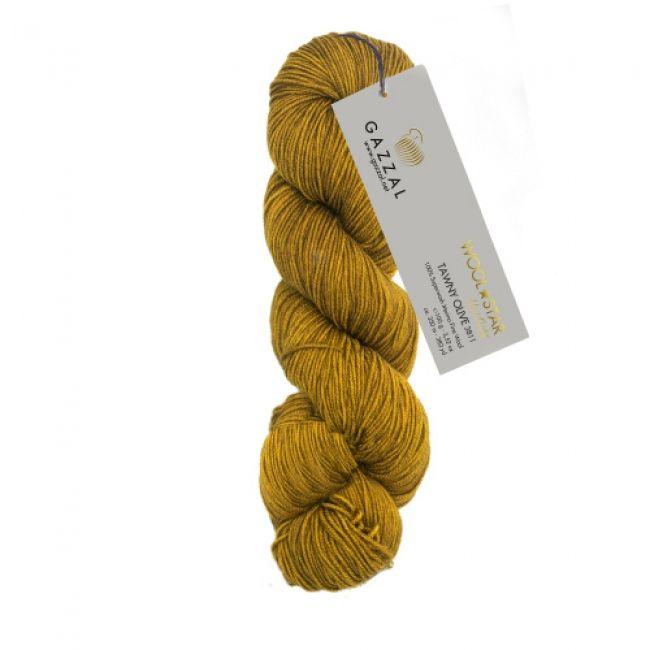 3811 рыжевато-оливковый