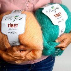 Tibet (67% акрил, 14% шерсть,10% полиэстер, 9% мохер) (200гр. 600м.)*2 мотка
