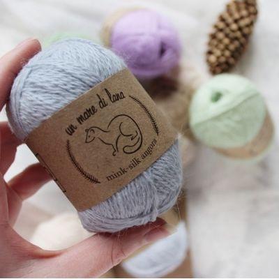 пряжа Wool Sea Mink-Silk Angora