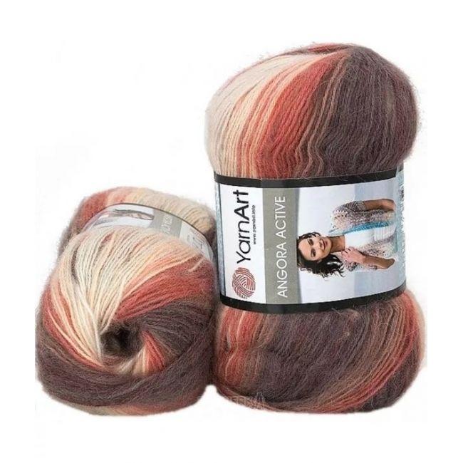 851 темно-коричневый, бордо, персик