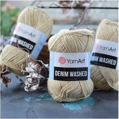 Denim Washed (хлопок 80%, акрил 20%) (50гр. 130м.)*10 мотков