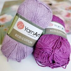 Eco Cotton (хлопок-85%, полиэстер-15%) (100гр. 220м.)*5 мотков